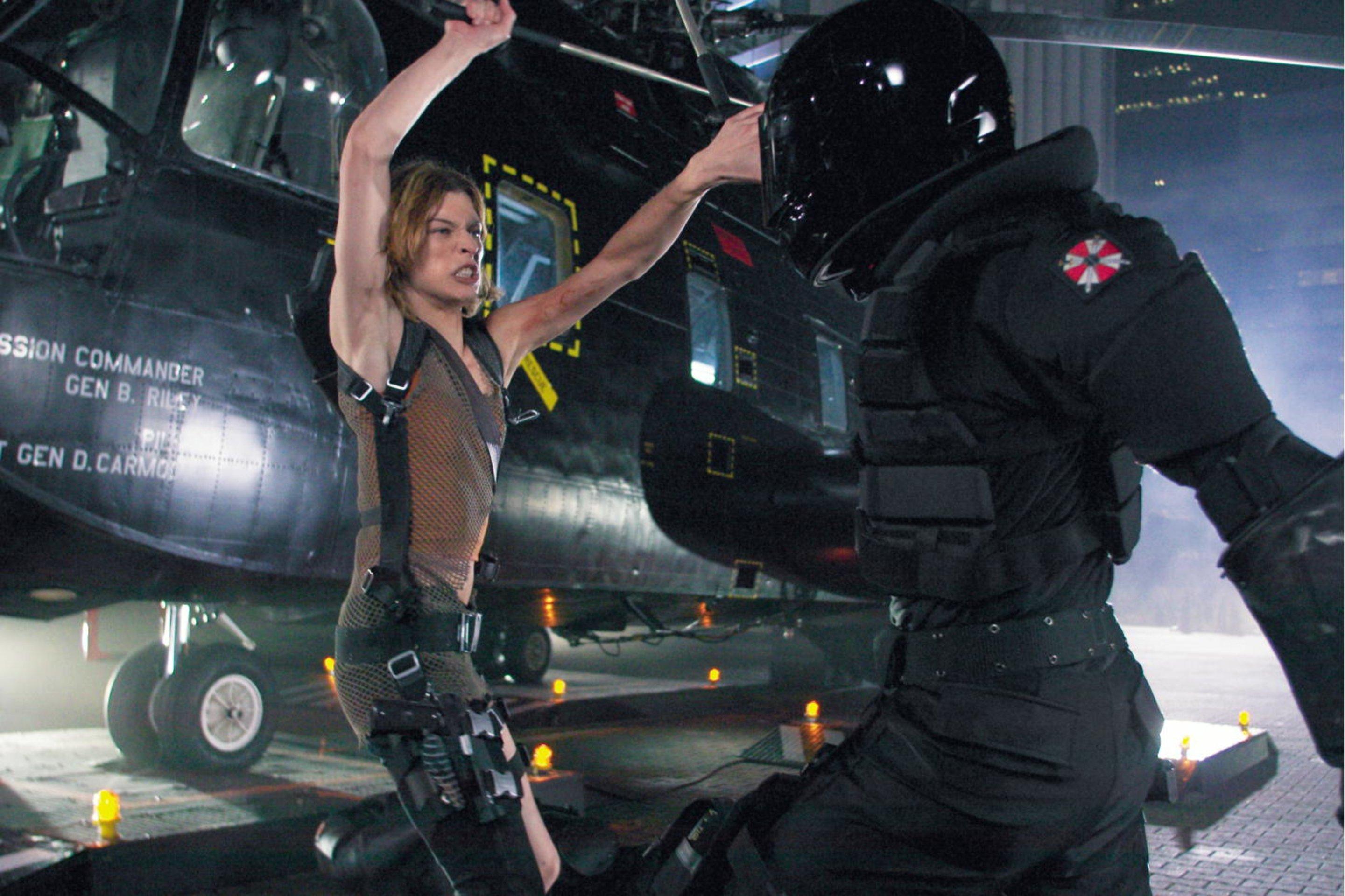 Milla Jovovich (*1975)... Milla Jovovich Resident Evil Apocalypse