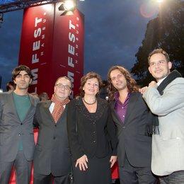 Filmfest Hamburg 2009 / Fatih Akin, Albert Wiederspiel, Christa Goetsch, Adam Bousdoukos und Moritz Bleibtreu Poster