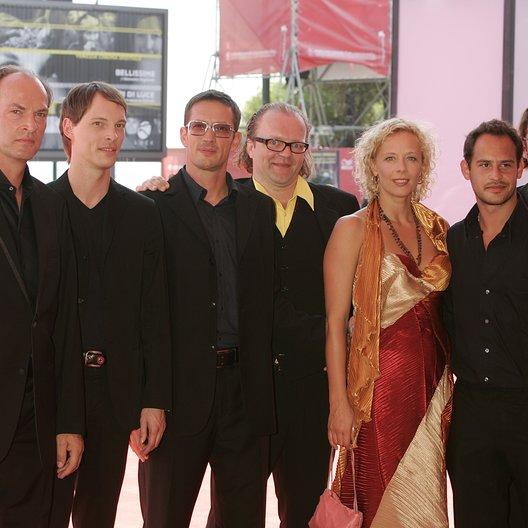 Filmfestspiele Venedig 2004 / Herbert Knaup / Martin Weiß / Oskar Roehler / Stefan Arndt / Katja Riemann / Moritz Bleibtreu / Agnes und seine Brüder Poster