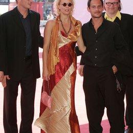 Filmfestspiele Venedig 2004 / Oskar Roehler / Katja Riemann / Moritz Bleibtreu / Stefan Arndt / Agnes und seine Brüder Poster