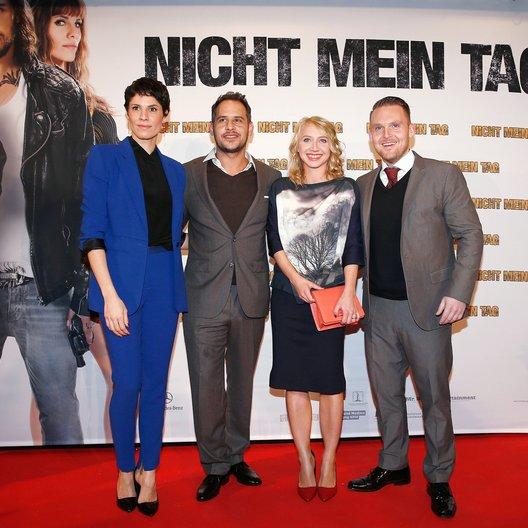Nicht mein Tag / Filmpremiere / Jasmin Gerat / Moritz Bleibtreu / Anna Maria Mühe / Axel Stein Poster