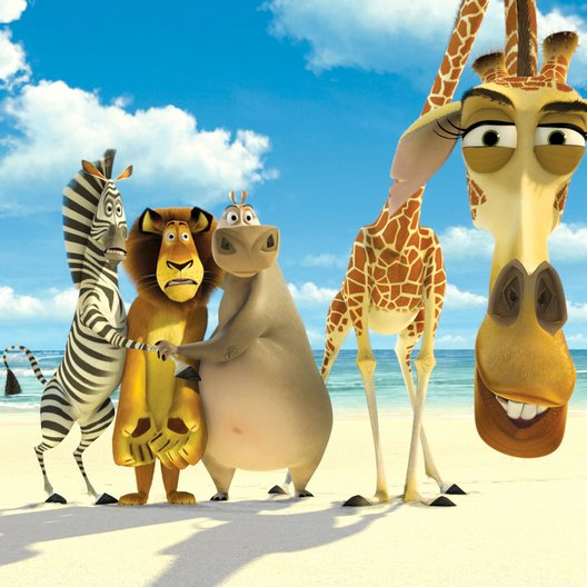 Madagascar / Madagascar / Madagascar 2 / Madagascar 3: Flucht durch Europa Poster