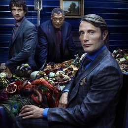 Hannibal - Staffel 1 / Hannibal / Laurence Fishburne / Mads Mikkelsen / Hugh Dancy Poster