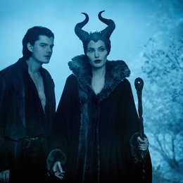 Maleficent - Die dunkle Fee / Sam Riley / Angelina Jolie Poster