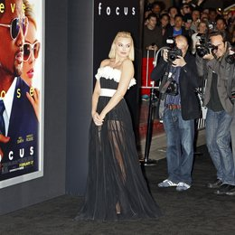 "Robbie, Margot / Premiere ""Focus"", Hollywood Poster"