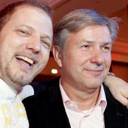 Medienboard Empfang anlässlich der 59. Berlinale / Mario Barth und Klaus Wowereit