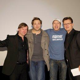 Tradeshow der Constantin auf der Münchner Filmwoche / Oliver Koppert, Dieter Tappert, Mario Barth und Torsten Koch