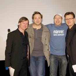 Tradeshow von Constantin Film Verleih auf Münchner Filmwoche / Oliver Koppert, Dieter Tappert, Mario Barth und Torsten Koch