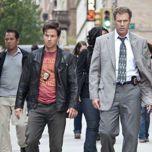 etwas anderen Cops, Die / Mark Wahlberg / Will Ferrell Poster