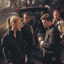 Italian Job - Jagd auf Millionen, The / Charlize Theron F. Gary Gray / Mark Wahlberg / Jason Statham / am Set