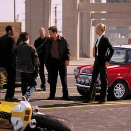 Italian Job - Jagd auf Millionen, The / Mos Def / Seth Green / Jason Statham / Mark Wahlberg / Charlize Theron / am Set