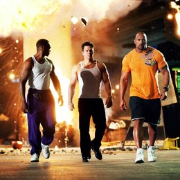 Pain & Gain / Anthony Mackie / Mark Wahlberg / Dwayne Johnson Poster