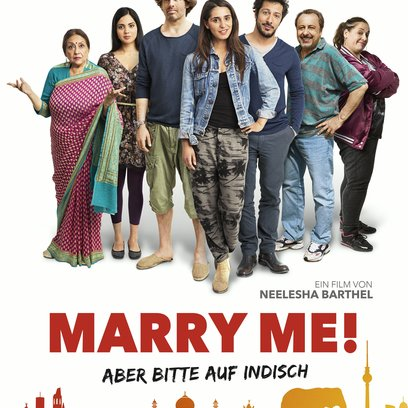 Marry Me! Aber bitte auf Indisch / Marry Me! Poster