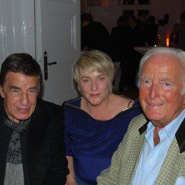 Rolf Kühn, Jutta Baechner (SMV) und Martin Böttcher