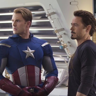 Marvel's The Avengers / Chris Evans / Robert Downey Jr. Poster