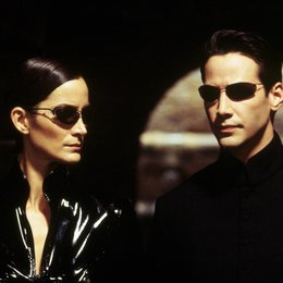 Matrix Reloaded / Carrie-Anne Moss / Keanu Reeves Poster