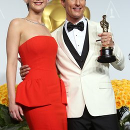 Jennifer Lawrence / Matthew McConaughey / 86th Academy Awards 2014 / Oscar 2014 Poster