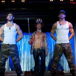 Magic Mike / Alex Pettyfer / Matthew McConaughey / Channing Tatum Poster
