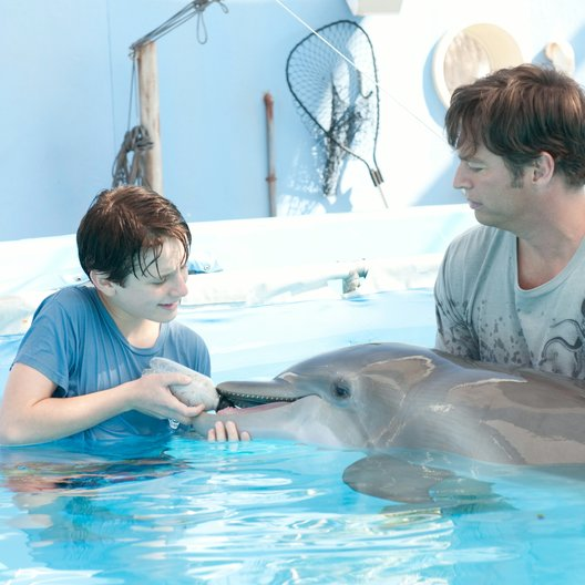 Mein Freund, der Delfin / Nathan Gamble / Harry Connick jr. Poster