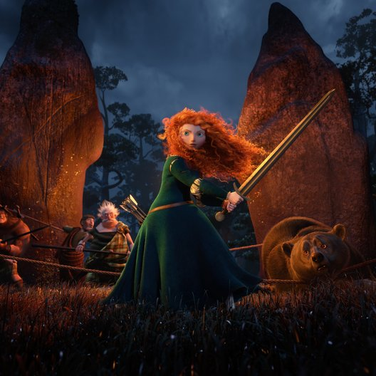 Merida - Legende der Highlands Poster