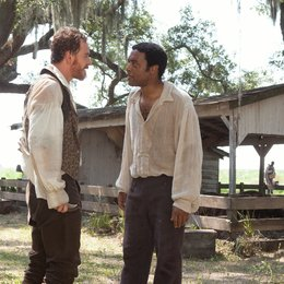 12 Years a Slave / Michael Fassbender / Chiwetel Ejiofor Poster