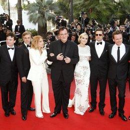 Bender, Lawrence / Myers, Mike / Waltz, Christoph / Laurent, Melanie / Tarantino, Quentin / Kruger, Diane / Pitt, Brad / Fassbender, Michael / Roth, Eli / 62. Filmfestival Cannes 2009 / Festival International du Film de Cannes Poster