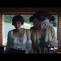 Frank / Maggie Gyllenhaal / Michael Fassbender Poster