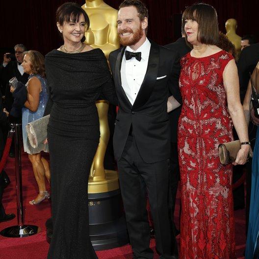 Michael Fassbender und Frau / 86th Academy Awards 2014 / Oscar 2014 Poster