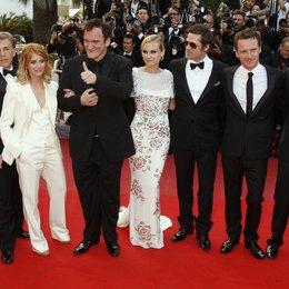 Myers, Mike / Waltz, Christoph / Laurent, Melanie / Tarantino, Quentin / Kruger, Diane / Pitt, Brad / Fassbender, Michael / Roth, Eli / 62. Filmfestival Cannes 2009 / Festival International du Film de Cannes Poster