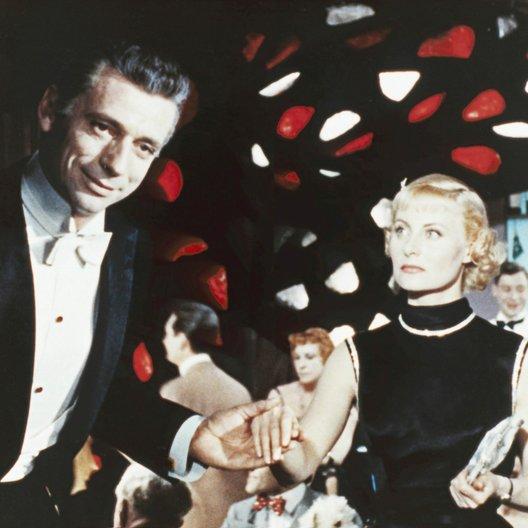 Yves Montand Collection - Die Blume der Nacht / Michèle Morgan Poster