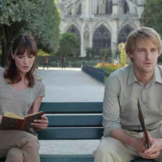 Midnight in Paris / Carla Bruni / Owen Wilson Poster