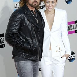Cyrus, Billy Ray / Cyrus, Miley / American Music Awards 2013, Los Angeles Poster