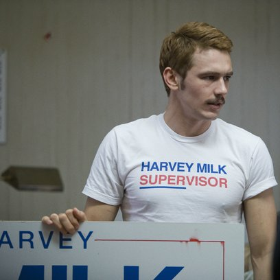 Milk / James Franco Poster