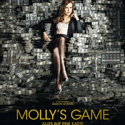 Molly's Game - Alles auf eine Karte / Molly's Game Poster