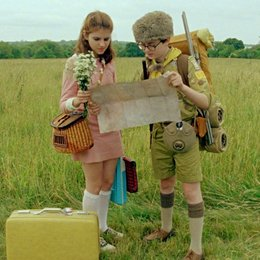 Moonrise Kingdom / Kara Hayward / Jared Gilman Poster