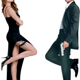 Mr. & Mrs. Smith / Angelina Jolie / Brad Pitt - freigestellt Poster
