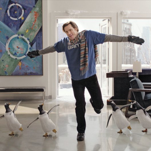 Mr. Poppers Pinguine / Jim Carrey Poster