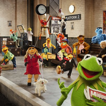 "Ab 29. Mai in den deutschen Kinos: ""Muppets Most Wanted"" Poster"