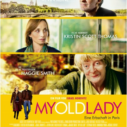 My Old Lady - Eine Erbschaft in Paris / My Old Lady Poster