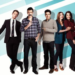 How I Met Your Mother (9. Staffel, 24 Folgen) / Josh Radnor / Neil Patrick Harris / Jason Segel / Alyson Hannigan / Cobie Smulders Poster