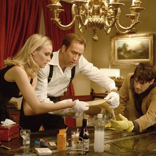 Vermächtnis der Tempelritter, Das / Diane Kruger / Nicolas Cage / Justin Bartha Poster