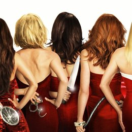 Desperate Housewives (5. Staffel, 24 Folgen) / Desperate Housewives (5. Staffel, 13 Folgen) / Marcia Cross / Nicollette Sheridan / Felicity Huffman / Teri Hatcher / Eva Longoria Poster
