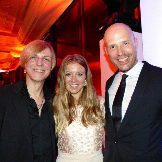 Deutscher Musikautorenpreis 2014 / Richie Barton (Silly), Nina Eichinger und Christopher von Deylen (Schiller) Poster