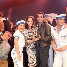 4. Live Entertainment Award LEA 2009 in Hamburg / Nina Petri und Henning Tögel, Franziska Becker und Kasper Holmboe Poster