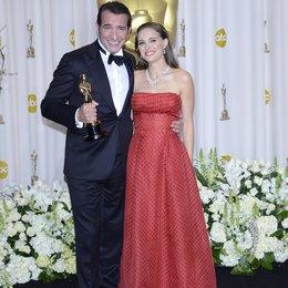 Jean Dujardin / Natalie Portman / 84rd Annual Academy Awards - Oscars / Oscarverleihung 2012 Poster