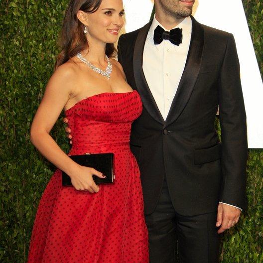 Natalie Portman / Benjamin Millepied / 84rd Annual Academy Awards - Oscars / Oscarverleihung 2012 Poster