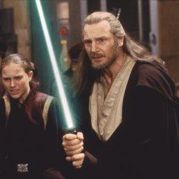 Star Wars: Episode 1 - Die dunkle Bedrohung / Natalie Portman / Liam Neeson Poster