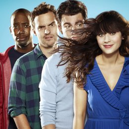 New Girl / Zooey Deschanel / Lamorne Morris / Max Greenfield / Jake M. Johnson Poster