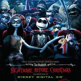 Nightmare Before Christmas 3D Poster