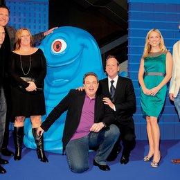 """Deutschlandpremiere von """"Monsters vs. Aliens"""" in Berlin / Ralf Moeller, Jeffrey Katzenberg, Lisa Stewart, Oliver Kalkofe, Kiefer Sutherland, Reese Witherspoon und Conrad Vernon Poster"""